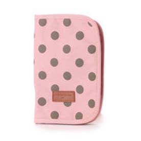 オリーブ デ オリーブ OLIVE des OLIVE 水玉母子手帳ケース (ピンク)