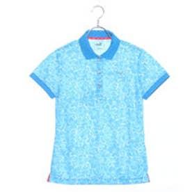 プーマ PUMA ゴルフ W SS ポロシャツ (BLUE JEWEL)