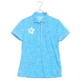 プーマ PUMA ゴルフ W SS ジャカード ポロシャツ (BLUE JEWEL)