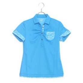 プーマ PUMA ゴルフ W SS ワイドカラー ポロシャツ (BLUE JEWEL)