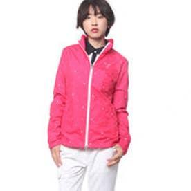プーマ PUMA ゴルフ W フルジップ ウインドジャケット (ROSE RED)
