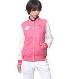 プーマ PUMA ゴルフ W スウェットジャケット (ROSE RED)