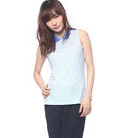 プーマ PUMA ゴルフ W ストライプ ノースリーブ ポロシャツ (DAZZLING BLUE)