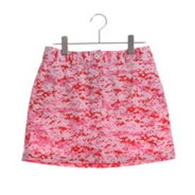 プーマ PUMA ゴルフ W ピクセルスカート (PUMA RED)