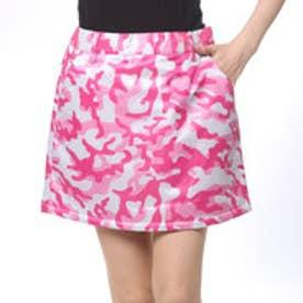 プーマ PUMA ゴルフ カモ パデッドスカート (PINK CAMO)