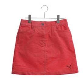 プーマ PUMA ゴルフ W コーデュロイスカート (CAYENNE)