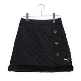 プーマ PUMA ゴルフ W パデッドスカート (BLACK)