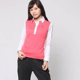 プーマ PUMA ゴルフ L/S UVシャツ (CALYPSO CORAL-WHITE)