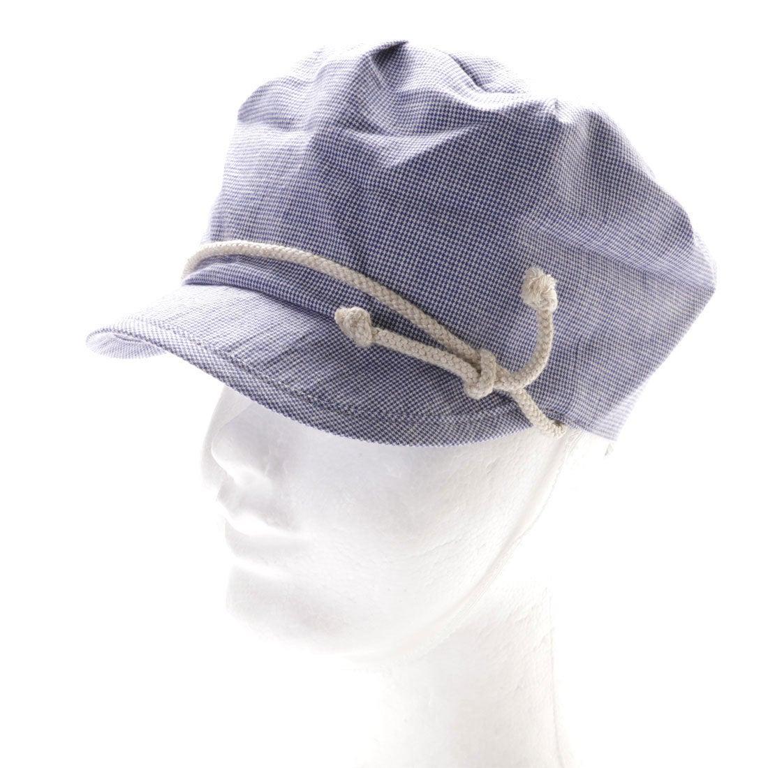 d7de844083407 リシェス richesse チェック柄ワーク帽子 (ネイビー) -アウトレット通販 ロコレット (LOCOLET)