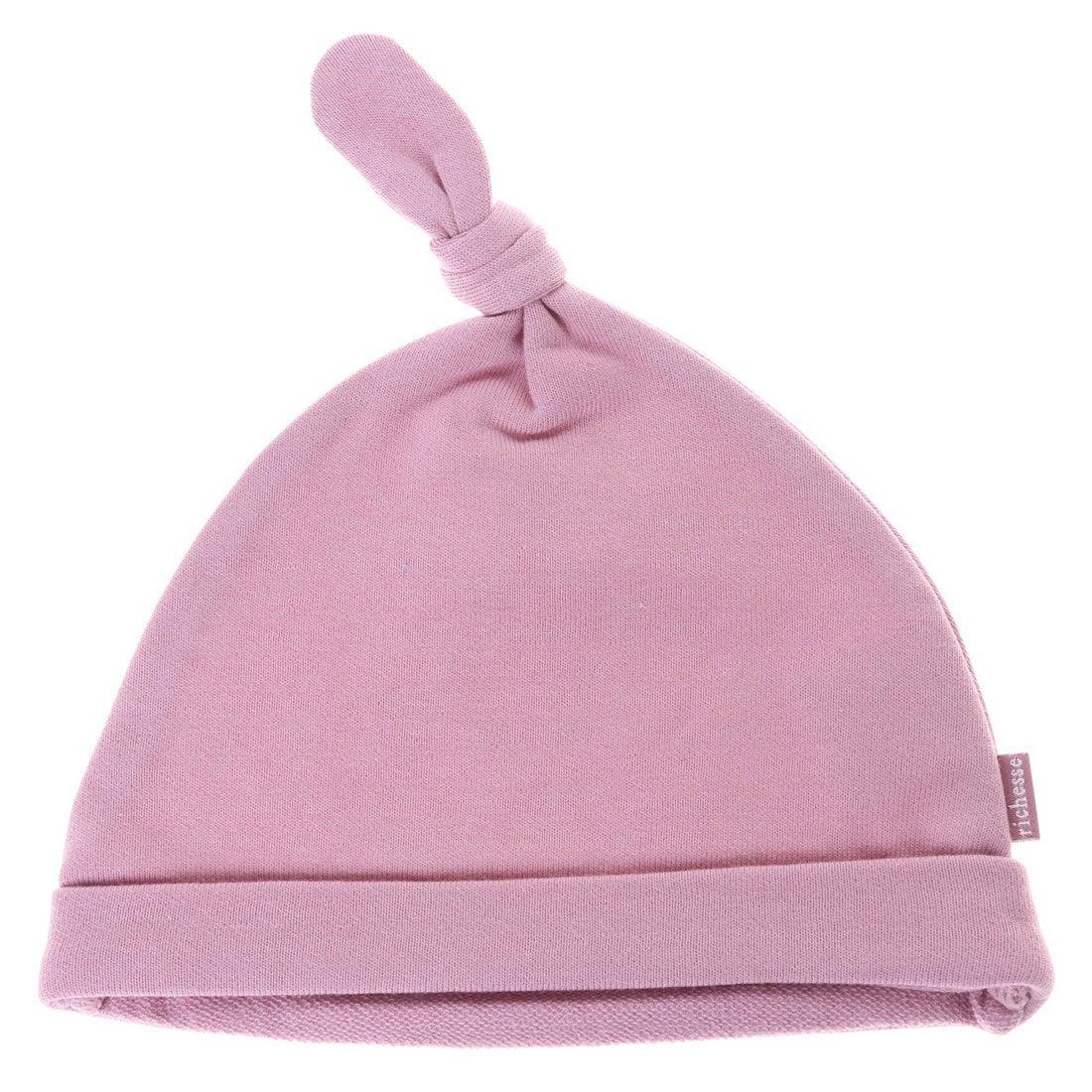 8cb4074a18459 リシェス richesse シンプルベビー帽子 (ピンク) -アウトレット通販 ロコレット (LOCOLET)