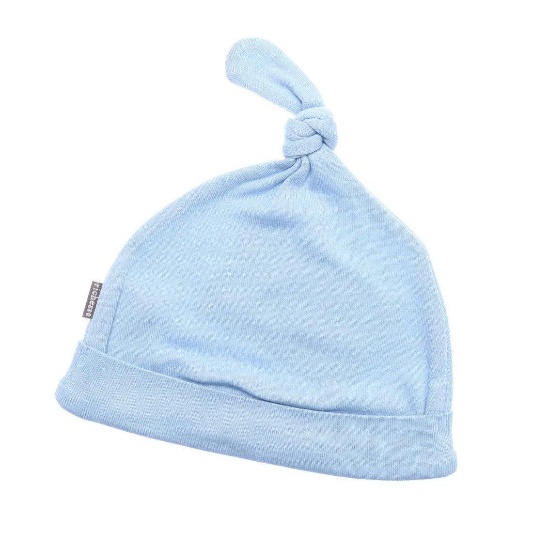 03221e9035876 リシェス richesse 綿新生児フード (ブルー) -アウトレット通販 ロコレット (LOCOLET)