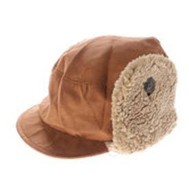 リシェス richesse ボア耳あて帽子 (ブラウン)