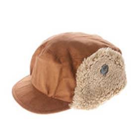 リシェス richesse ボア付帽子 (ブラウン)