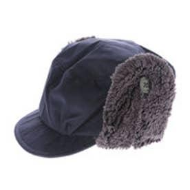 リシェス richesse ボア付帽子 (ネイビー)