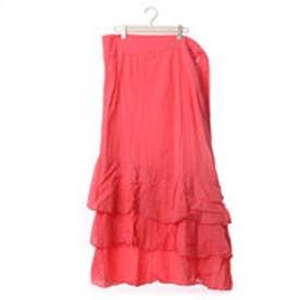 ルビーリベット Rubyrivet フレアータイスカート (ピンク)