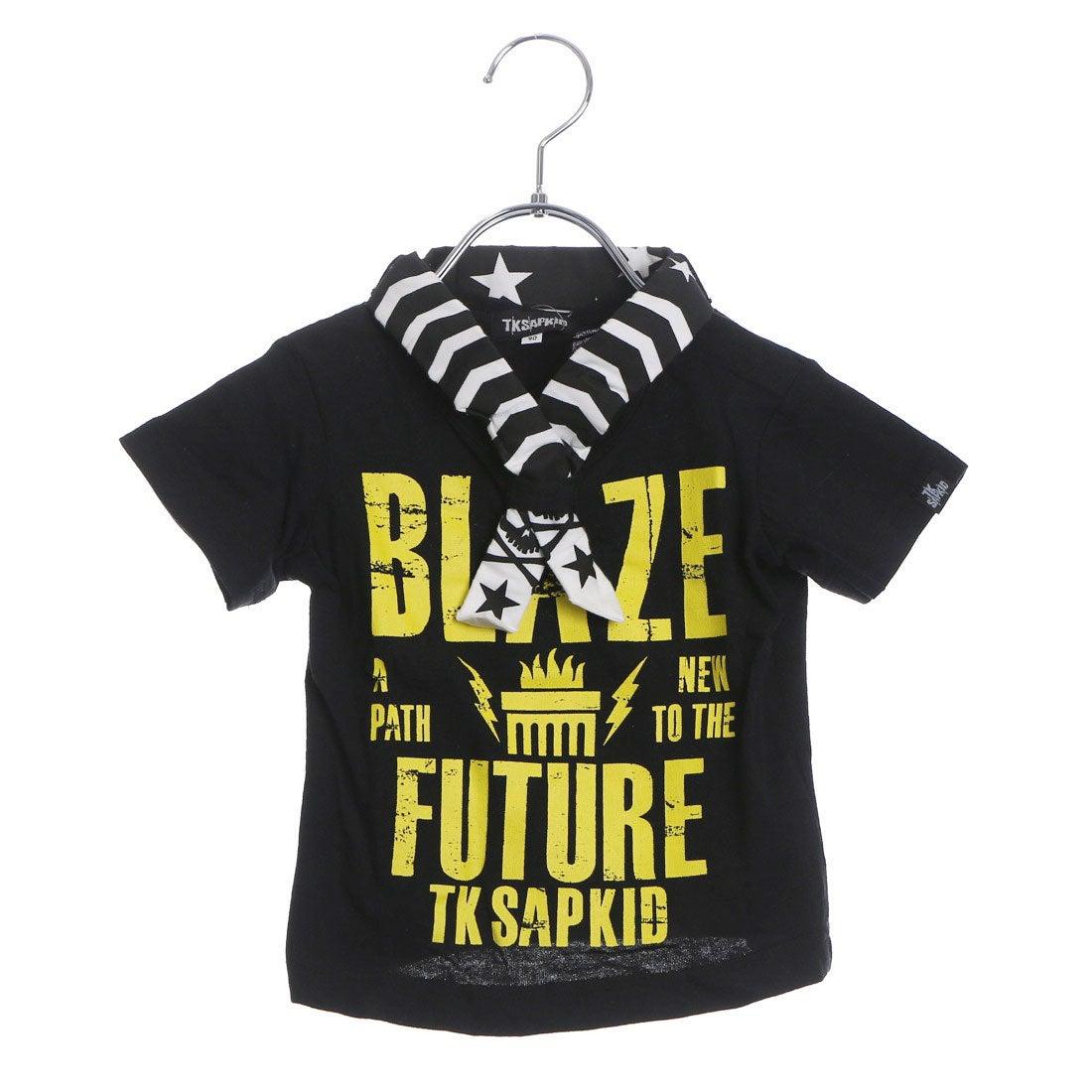 4e0e9418c5086 ザ ショップ ティーケー THE SHOP TK バンダナ付ロゴTシャツ (ブラック) -アウトレット通販 ロコレット (LOCOLET)