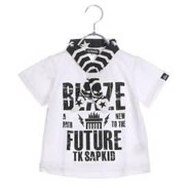 ザ ショップ ティーケー THE SHOP TK バンダナ付きロゴTシャツ (ホワイト)