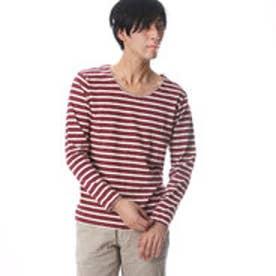 ザ ショップ ティーケー THE SHOP TK ボーダー長袖Tシャツ (パターン)