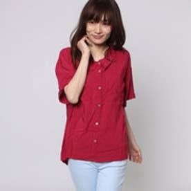 ジエンポリアム THE EMPORIUM ポケット付き半袖シャツ (ピンク)