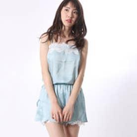 アンチュール エミュ Unchulle' emu ルームドレス&ショートパンツ (ブルー)