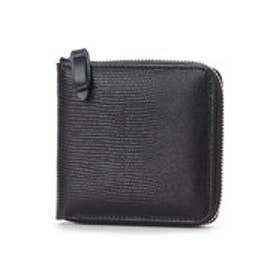 アーバンリサーチ  URBAN RESEARCH outlet ラウンドファスナー二つ折り財布 (ブラック)