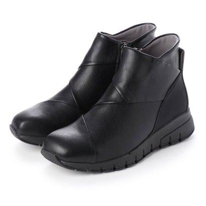 クロスインステップブーツ (ブラック)