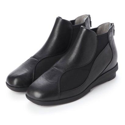 軽量グリップアンクルブーツ (ブラック)
