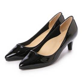 クリアインプレッション CLEAR IMPRESSION プレーンパンプス革靴 (クロ)