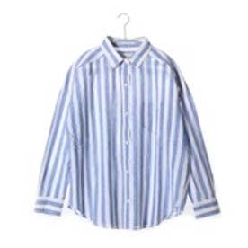 クリアインプレッション CLEAR IMPRESSION BEZシャツ (ブルー)