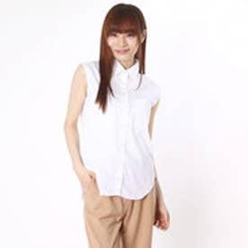 クリアインプレッション CLEAR IMPRESSION 綿ナイロンPUブローシャツ (オフシロ)