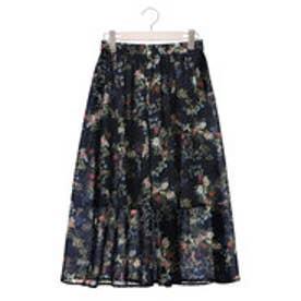 クリアインプレッション CLEAR IMPRESSION スパンローンボタニカショートスカート (コン)