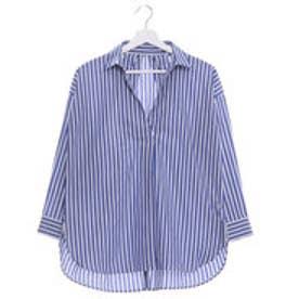 クリアインプレッション CLEAR IMPRESSION タイプライターシャツ (ブルー)