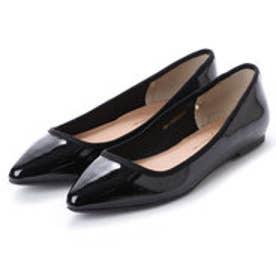 クリアインプレッション CLEAR IMPRESSION CL?1ポインテッド革靴 (クロ)