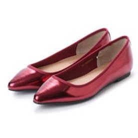 クリアインプレッション CLEAR IMPRESSION CL?1ポインテッド革靴 (ボルドー)