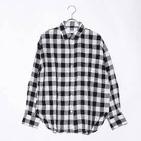クリアインプレッション CLEAR IMPRESSION フレンチリネンBLシャツ (スミクロ)