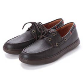 フィットフロップ FitFlop LAWRENCE BOAT SHOES (Chocolate)