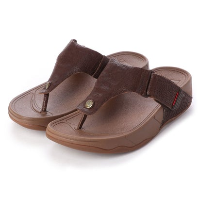フィットフロップ fitflop TRAKK II CROC-EMBOSS (Chocolate Brown)