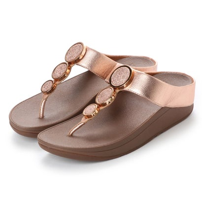 フィットフロップ fitflop HALO TOE THONG SANDALS (Rose Gold)