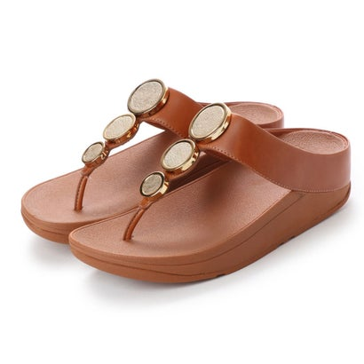 フィットフロップ fitflop HALO TOE THONG SANDALS (Caramel)