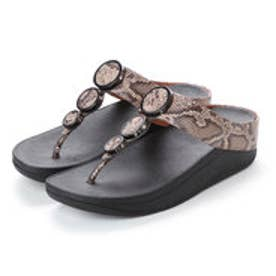 フィットフロップ FitFlop HALO TOE THONG SANDALS (Taupe Snake)