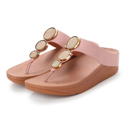 フィットフロップ fitflop HALO TOE THONG SANDALS (Dusky Pink)