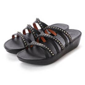 フィットフロップ fitflop LINNY SLIDE SANDALS - CRYSTAL (Black)