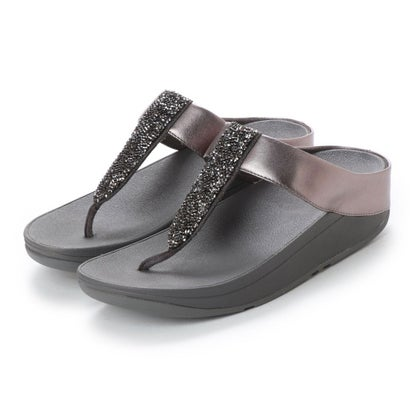 フィットフロップ fitflop SPARKLIE ROXY TOE POST (Pewter)