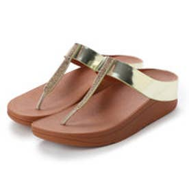 フィットフロップ FitFlop FINO CRYSTAL TOE-THONG SANDALS (Gold)