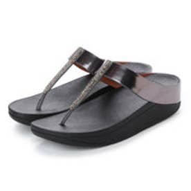フィットフロップ fitflop FINO CRYSTAL TOE-THONG SANDALS (Pewter)