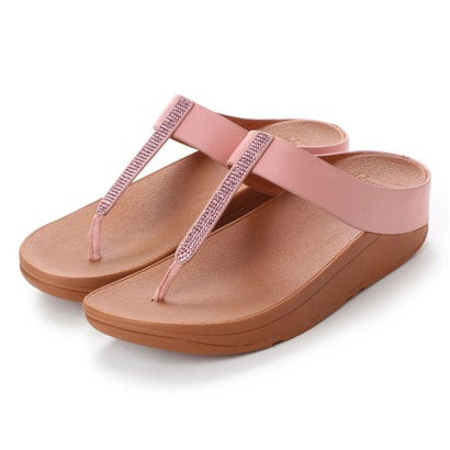 フィットフロップ fitflop FINO CRYSTAL TOE-THONG SANDALS (Dusky Pink)