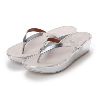 フィットフロップ fitflop LINNY TOE-THONG SANDALS - MIRROR (Silver Mirror)