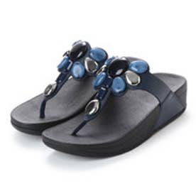 フィットフロップ fitflop HONEYBEE JEWELLED TOE-THONG SANDALS (Midnight Navy)