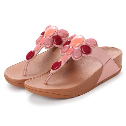 フィットフロップ fitflop HONEYBEE JEWELLED TOE-THONG SANDALS (Dusky Pink)