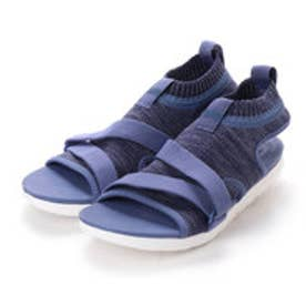 フィットフロップ FitFlop UBERKNIT BACK-STRAP SANDALS (Indian Blue/Powder Blue)
